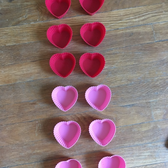 Other - Heart Shaped Cupcake molds